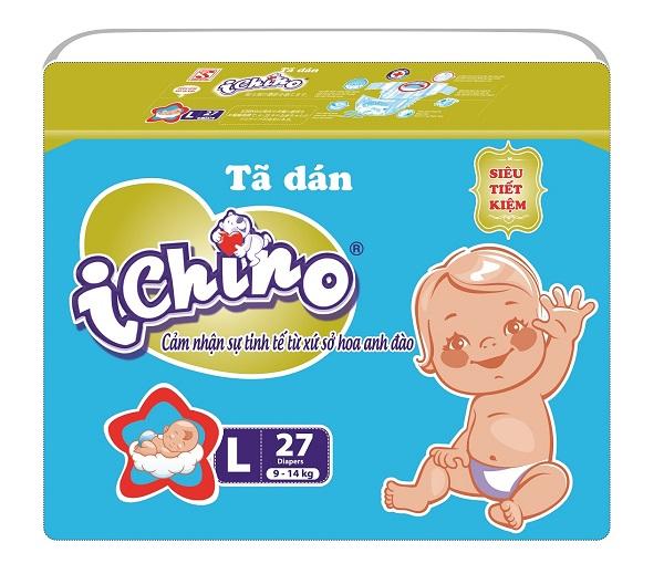 Tã (bỉm) dán Ichino tiết kiệm